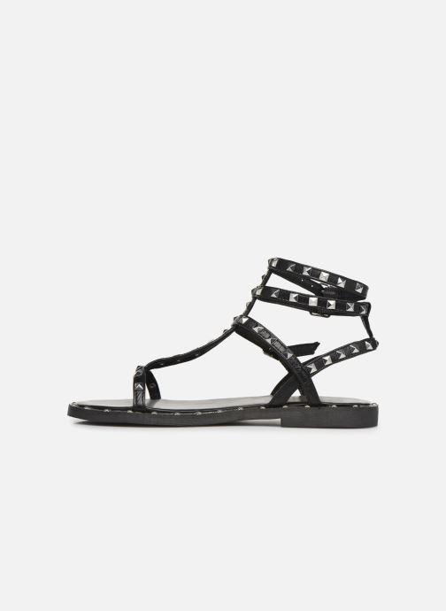 Sandales et nu-pieds Les Tropéziennes par M Belarbi Cassie Noir vue face