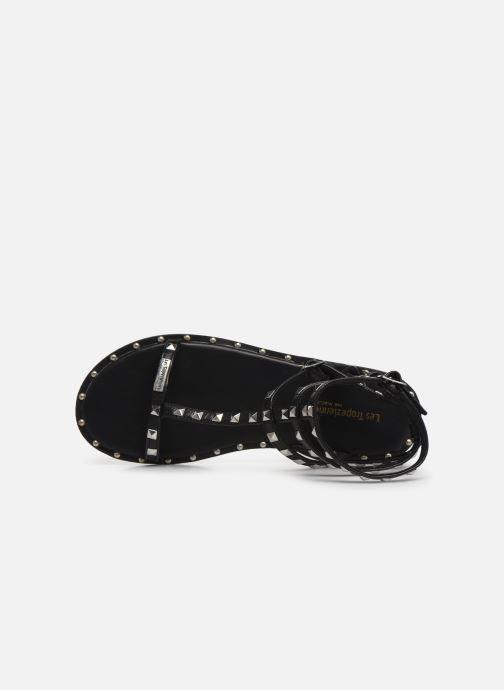 Sandales et nu-pieds Les Tropéziennes par M Belarbi Cassie Noir vue gauche