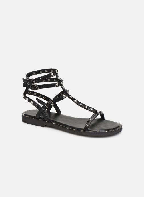 Sandales et nu-pieds Les Tropéziennes par M Belarbi Cassie Noir vue détail/paire