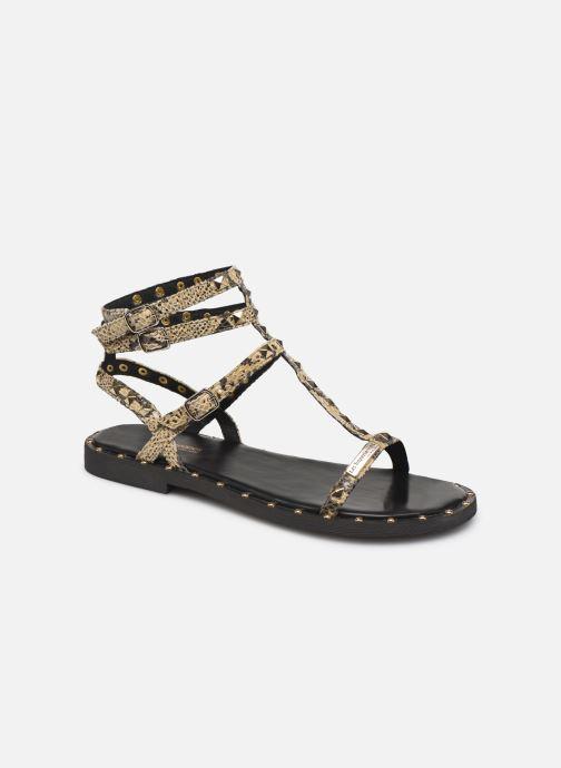 Sandales et nu-pieds Les Tropéziennes par M Belarbi Cassie Beige vue détail/paire