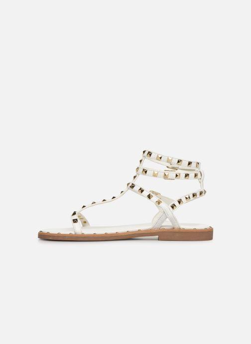 Sandales et nu-pieds Les Tropéziennes par M Belarbi Cassie Blanc vue face