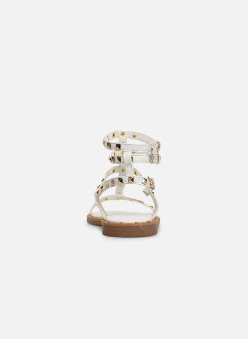 Sandales et nu-pieds Les Tropéziennes par M Belarbi Cassie Blanc vue droite