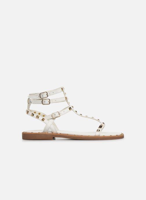 Sandales et nu-pieds Les Tropéziennes par M Belarbi Cassie Blanc vue derrière