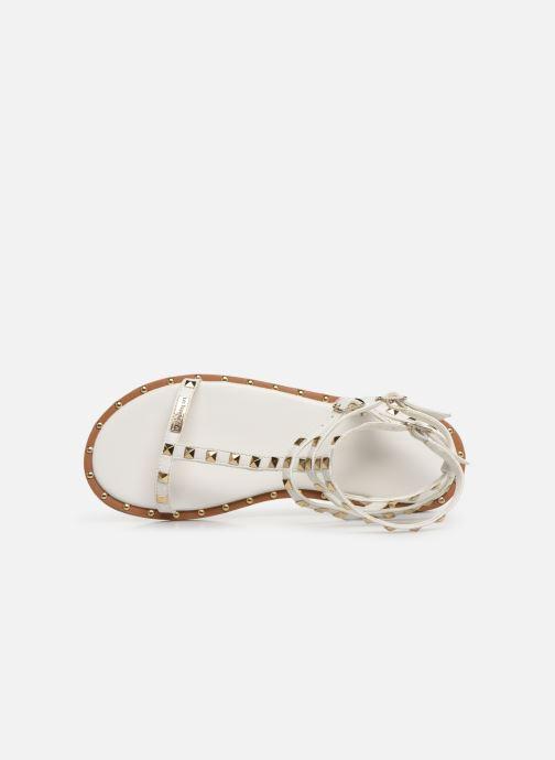 Sandales et nu-pieds Les Tropéziennes par M Belarbi Cassie Blanc vue gauche