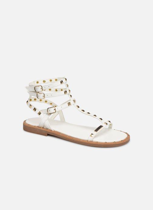 Sandales et nu-pieds Les Tropéziennes par M Belarbi Cassie Blanc vue détail/paire