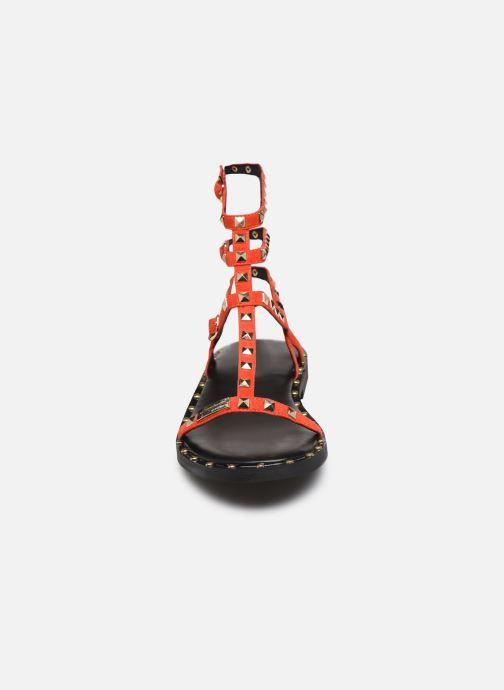 Sandales et nu-pieds Les Tropéziennes par M Belarbi Cassie Rouge vue portées chaussures