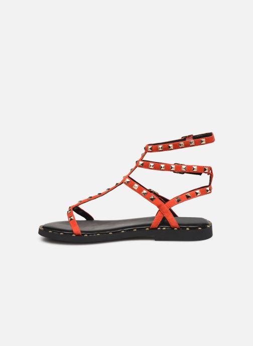 Sandales et nu-pieds Les Tropéziennes par M Belarbi Cassie Rouge vue face