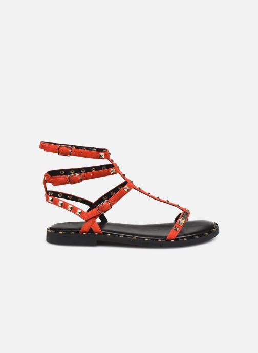 Sandales et nu-pieds Les Tropéziennes par M Belarbi Cassie Rouge vue derrière