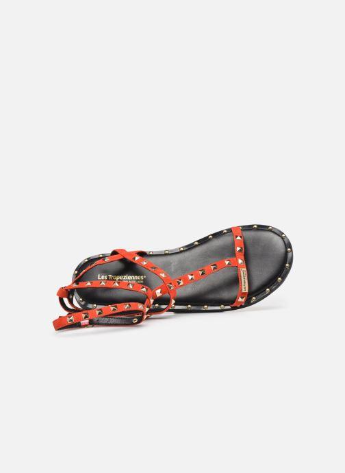 Sandales et nu-pieds Les Tropéziennes par M Belarbi Cassie Rouge vue gauche