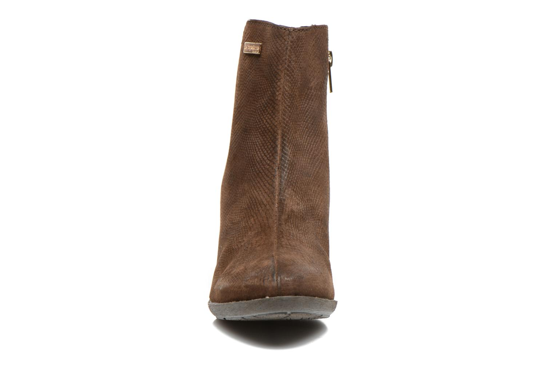 Boots Les Tropéziennes par M Belarbi Lune Brun bild av skorna på