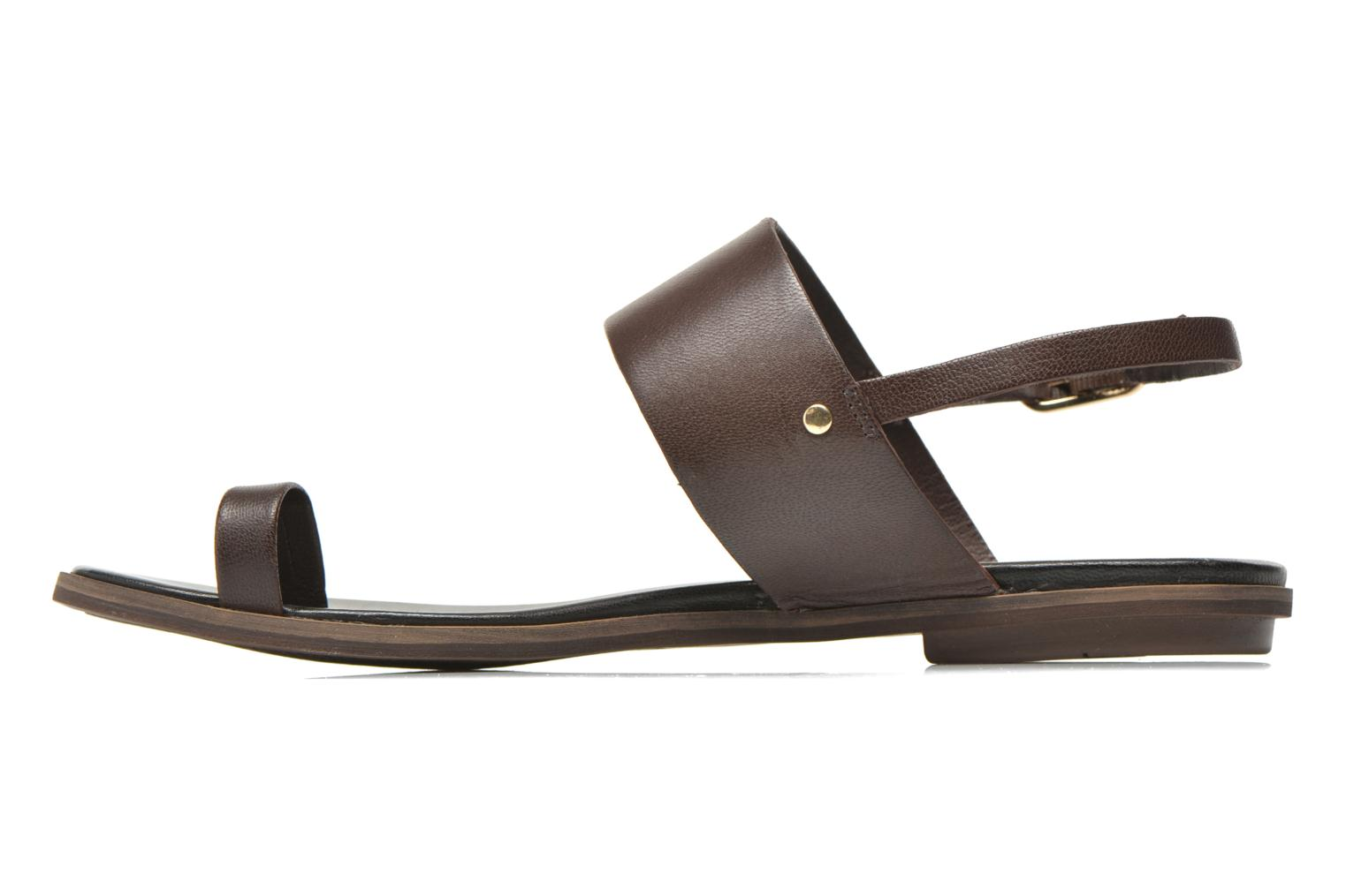 Sandals Vagabond Shoemakers NATALIA 4108-201 Brown front view