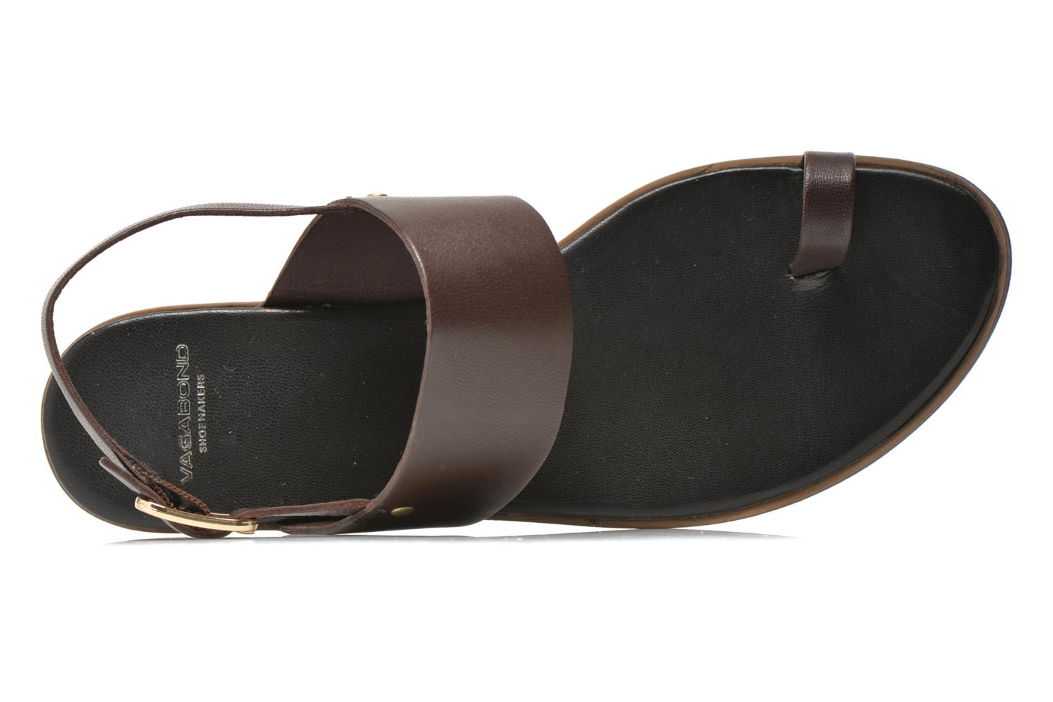 Sandals Vagabond Shoemakers NATALIA 4108-201 Brown view from the left