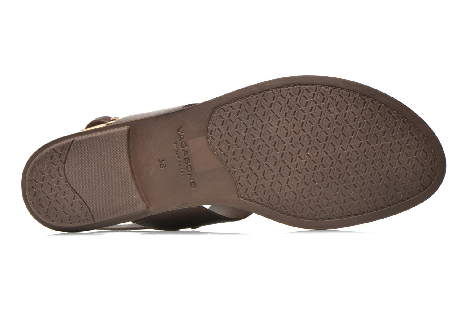 Sandals Vagabond Shoemakers NATALIA 4108-201 Brown view from above