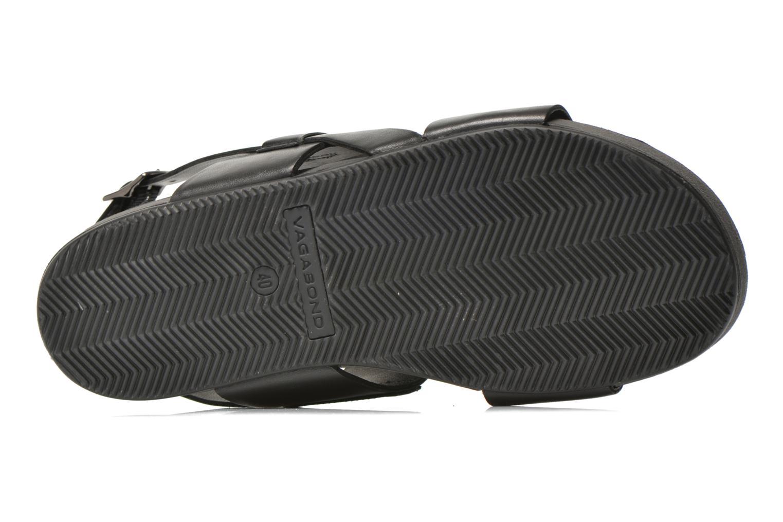Sandales et nu-pieds Vagabond Shoemakers Funk 4390-101 Noir vue haut