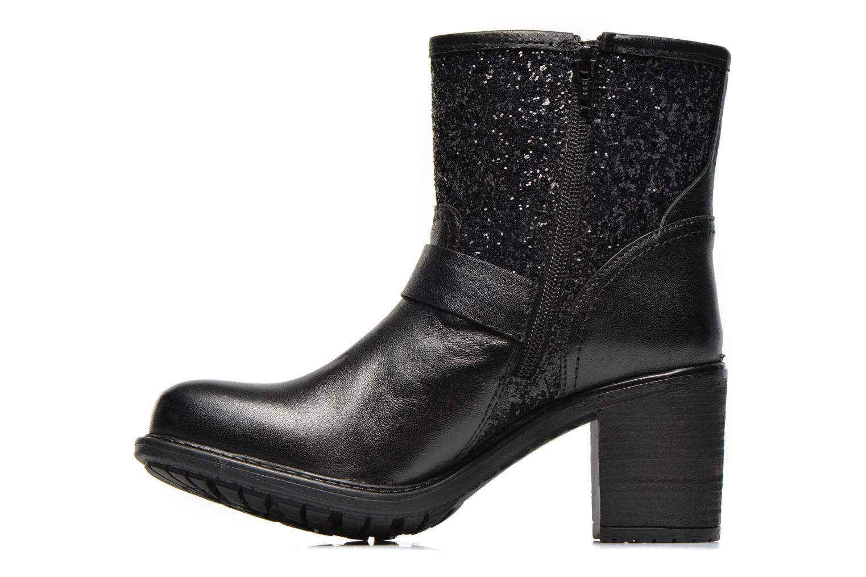 Boots en enkellaarsjes Initiale Paris Carnaby Zwart voorkant