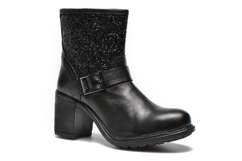 Boots en enkellaarsjes Initiale Paris Carnaby Zwart detail