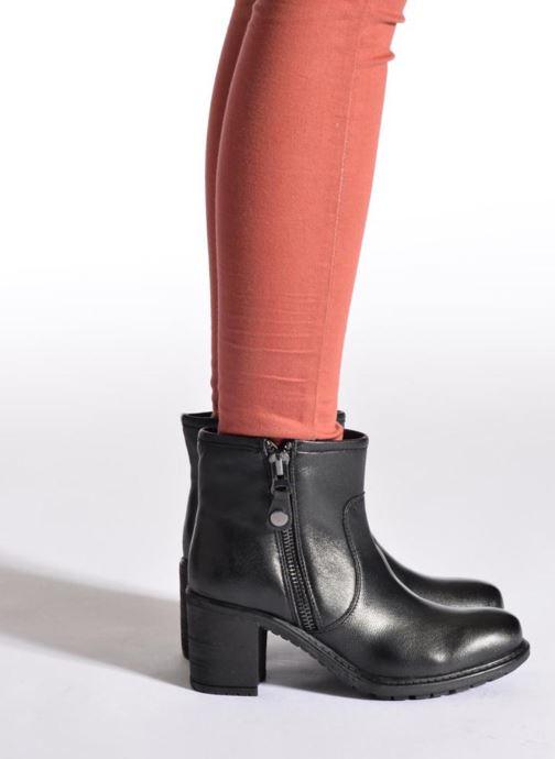 Boots en enkellaarsjes Initiale Paris County Zwart onder