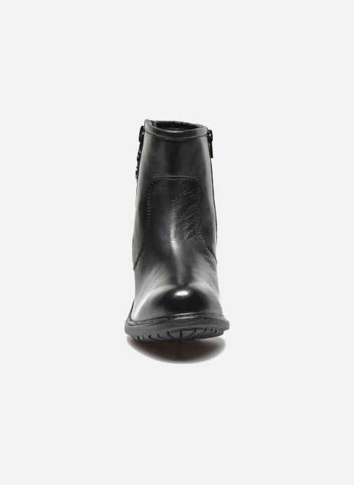 Bottines et boots Initiale Paris County Noir vue portées chaussures
