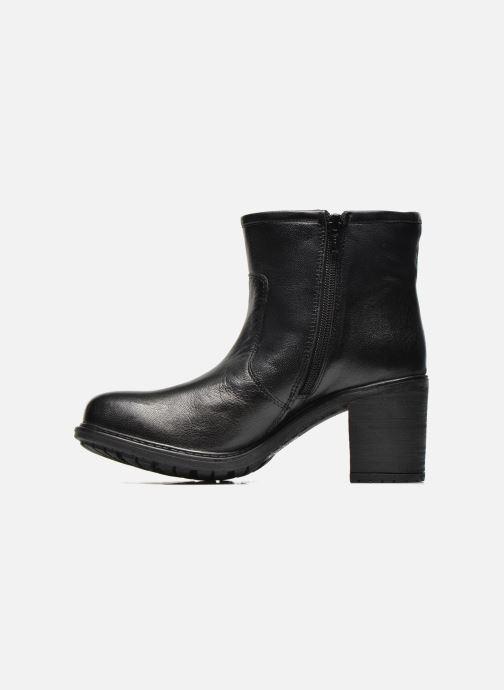 Boots en enkellaarsjes Initiale Paris County Zwart voorkant