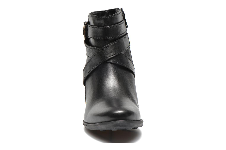 Ankle boots Initiale Paris Marble Black model view