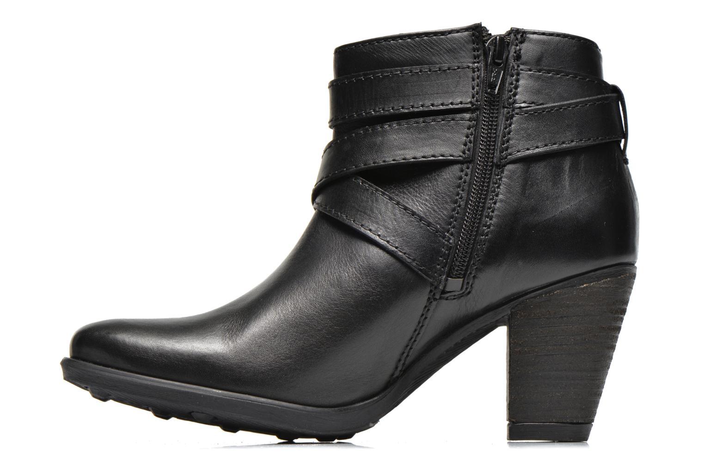 Boots en enkellaarsjes Initiale Paris Marble Zwart voorkant
