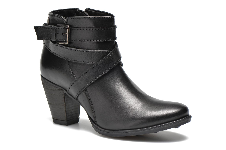 Boots en enkellaarsjes Initiale Paris Marble Zwart detail