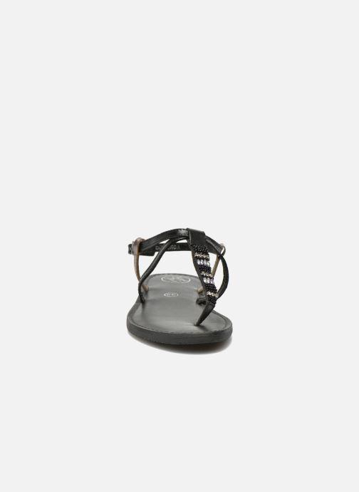 Sandals Initiale Paris Miro Black model view