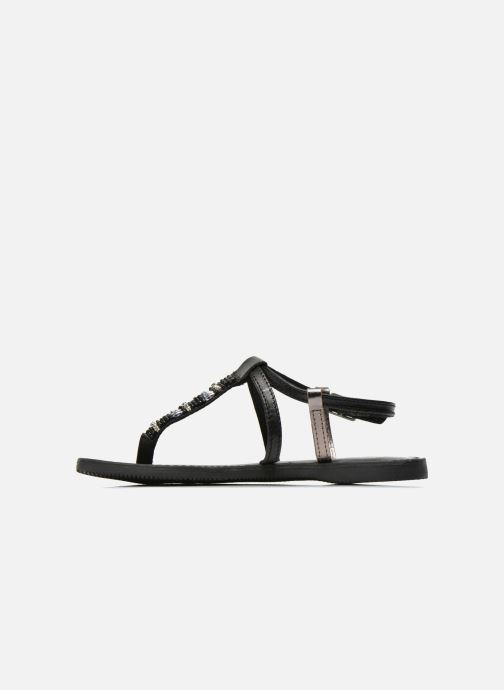 Sandals Initiale Paris Miro Black front view