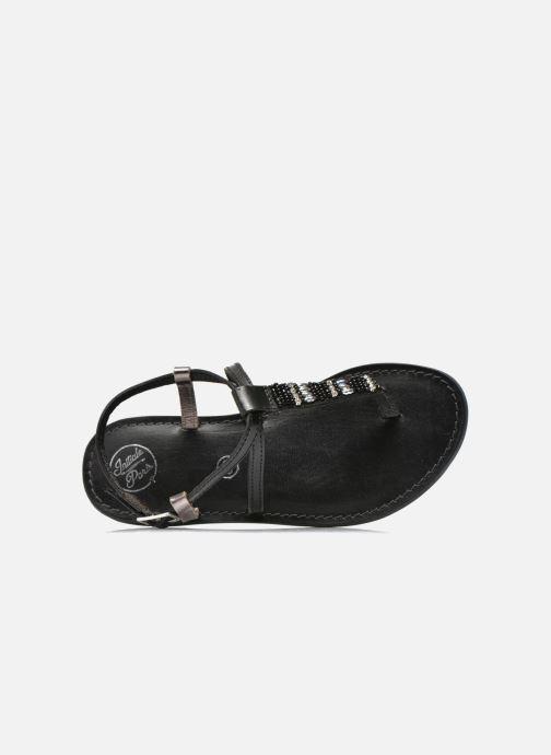 Sandals Initiale Paris Miro Black view from the left