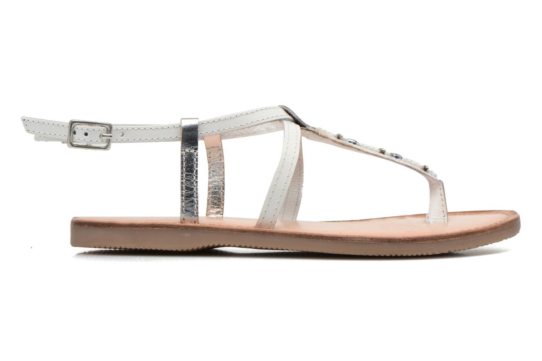 Sandalen Initiale Paris Miro weiß ansicht von hinten