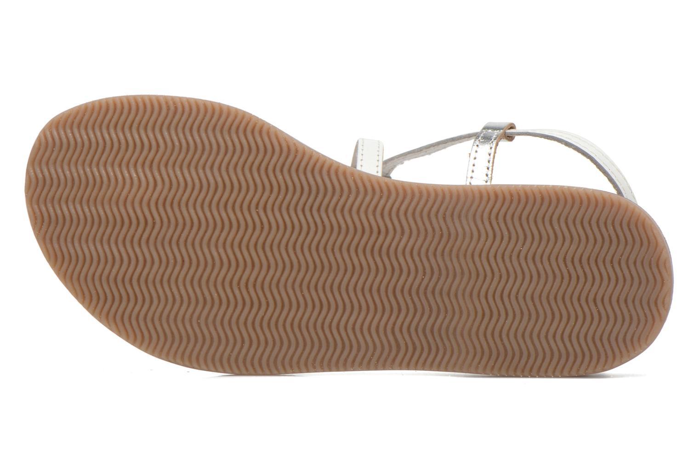 Sandalen Initiale Paris Miro weiß ansicht von oben