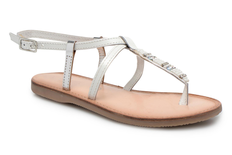 Sandalen Initiale Paris Miro weiß detaillierte ansicht/modell