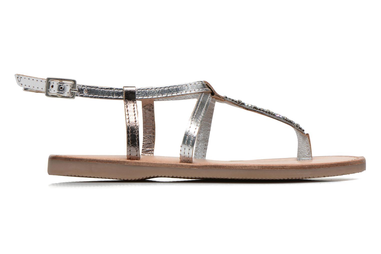 Sandalen Initiale Paris Miro silber ansicht von hinten