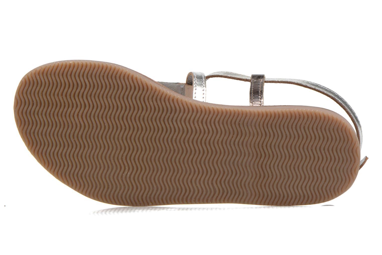 Sandalen Initiale Paris Miro silber ansicht von oben