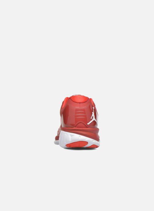 Baskets Jordan Jordan Trainer St Rouge vue droite