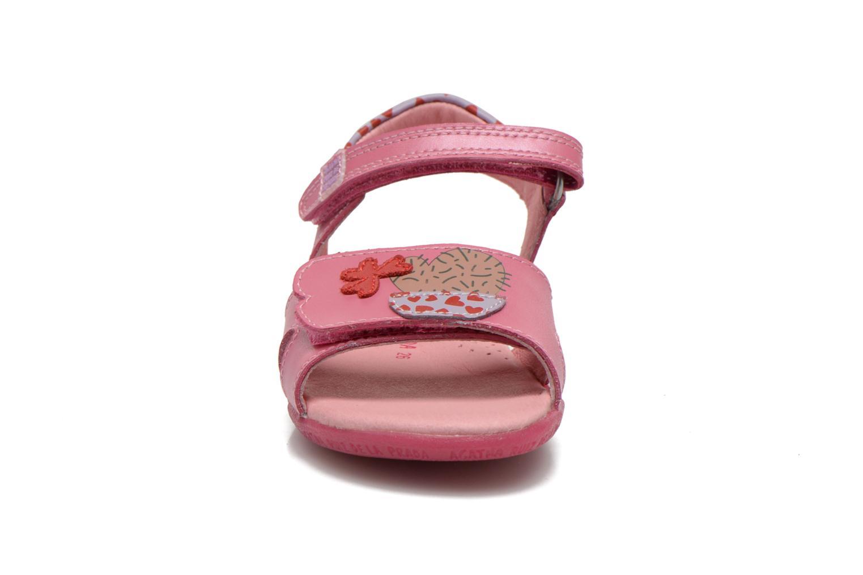 Sandales et nu-pieds Agatha Ruiz de la Prada Jardino Rose vue portées chaussures