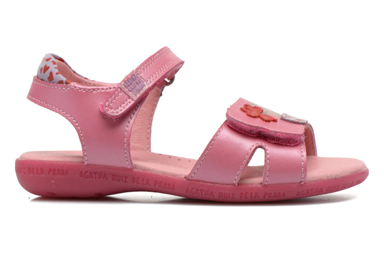 Sandals Agatha Ruiz de la Prada Jardino Pink back view