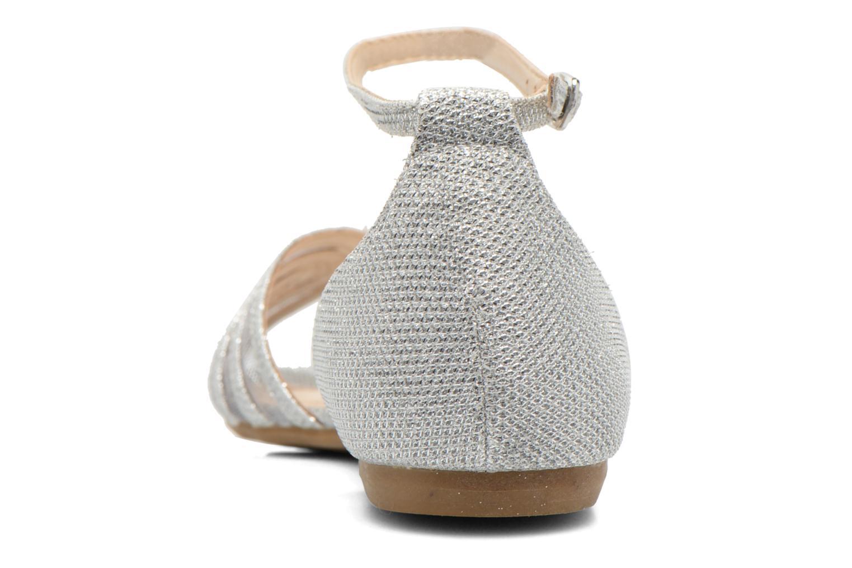 Sandales et nu-pieds I Love Shoes Kivipa Argent vue droite