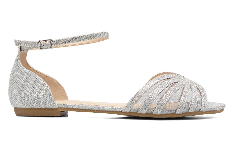 Sandales et nu-pieds I Love Shoes Kivipa Argent vue derrière
