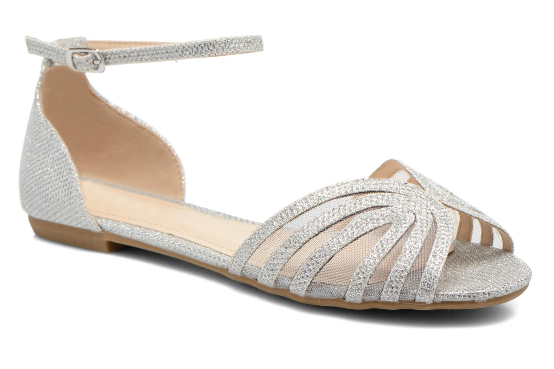 Sandales et nu-pieds I Love Shoes Kivipa Argent vue détail/paire