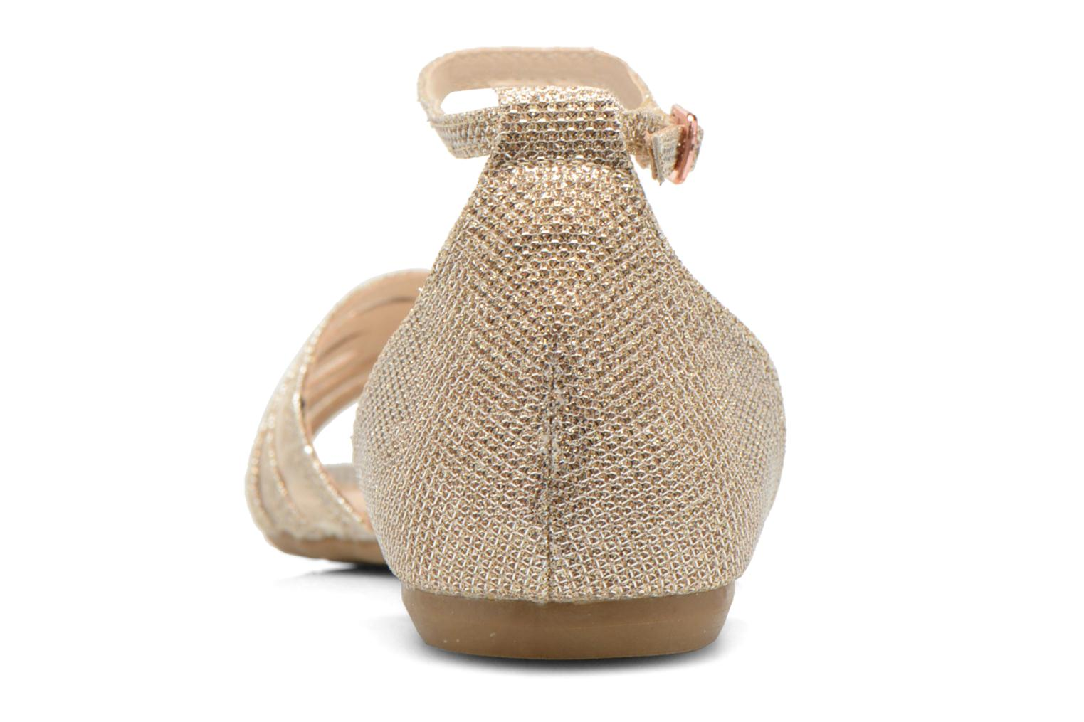 Sandalias I Love Shoes Kivipa Oro y bronce vista lateral derecha