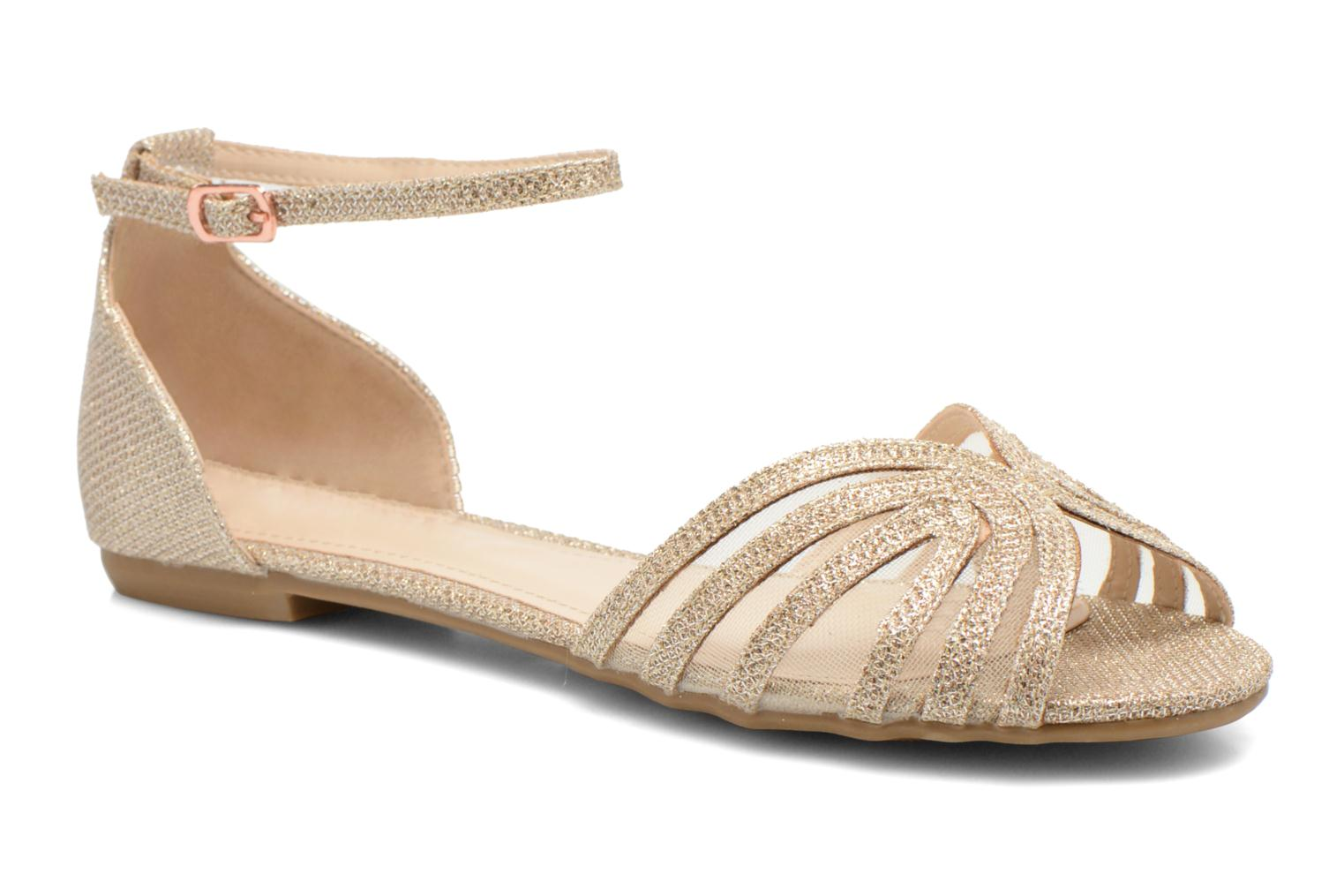 Sandalen I Love Shoes Kivipa Goud en brons detail