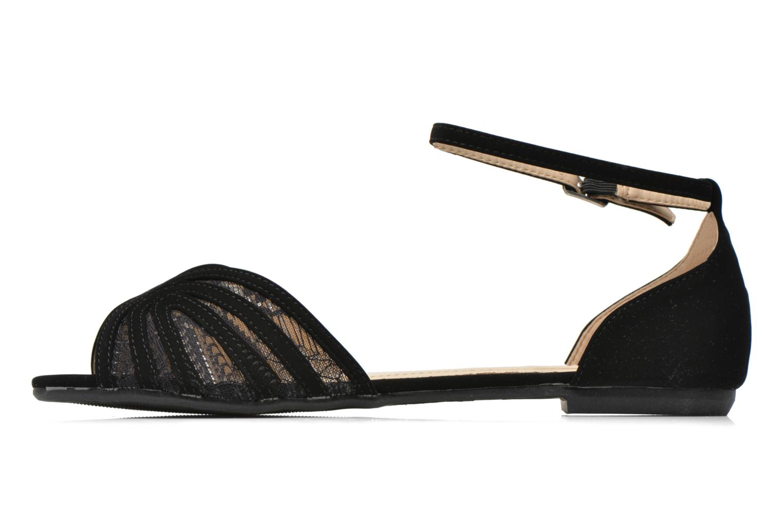 Sandales et nu-pieds I Love Shoes Kivipa Noir vue face