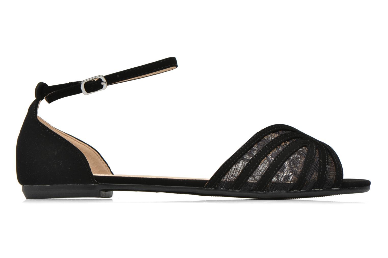Sandales et nu-pieds I Love Shoes Kivipa Noir vue derrière