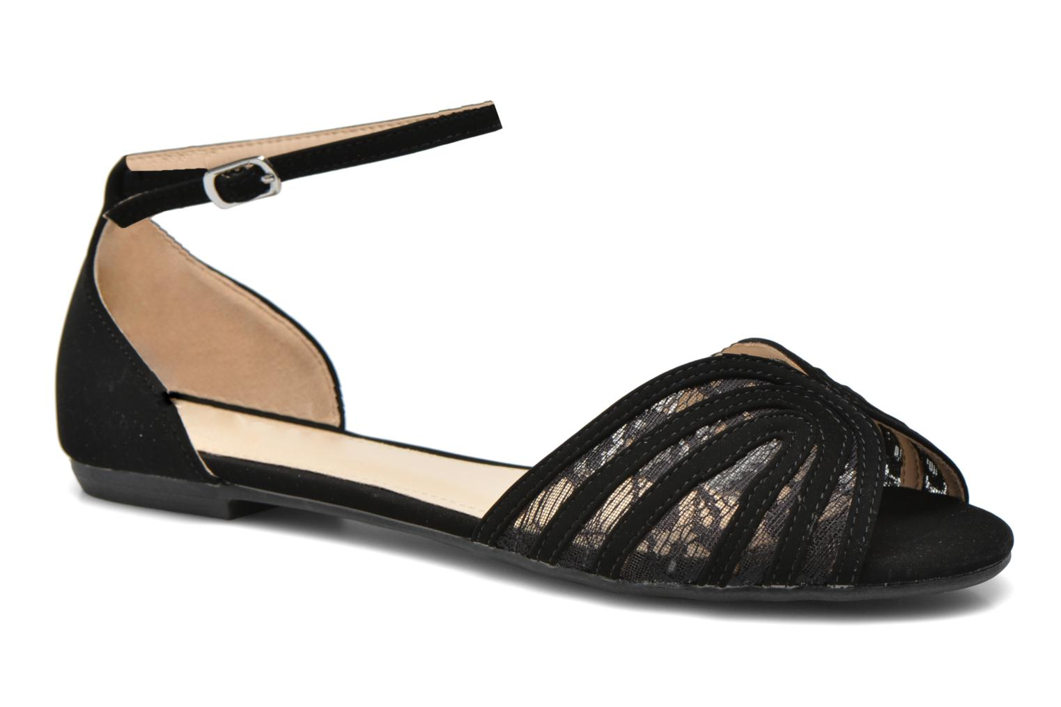 Sandals I Love Shoes Kivipa Black detailed view/ Pair view