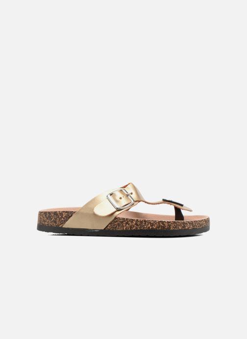 Sandales et nu-pieds I Love Shoes Kirtui Or et bronze vue derrière