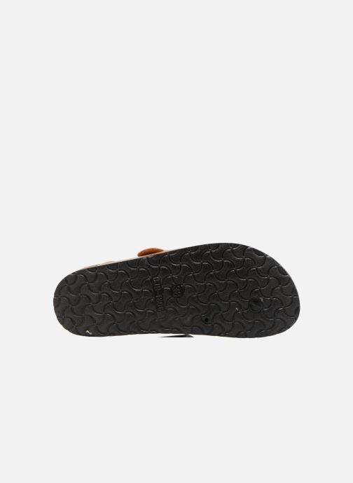 Sandales et nu-pieds I Love Shoes Kirtui Or et bronze vue haut