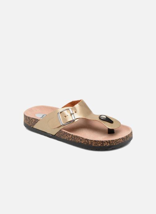 Sandales et nu-pieds I Love Shoes Kirtui Or et bronze vue détail/paire
