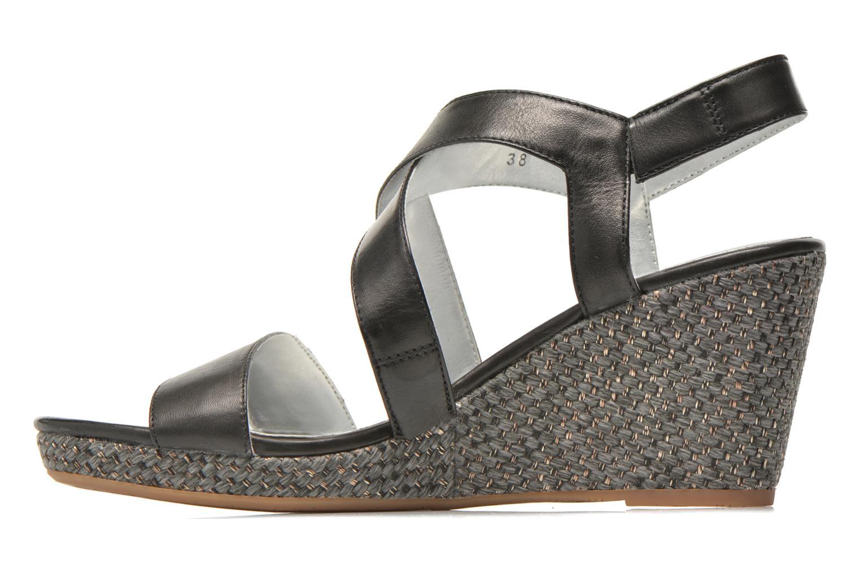 Sandals JB MARTIN Quetza Black front view