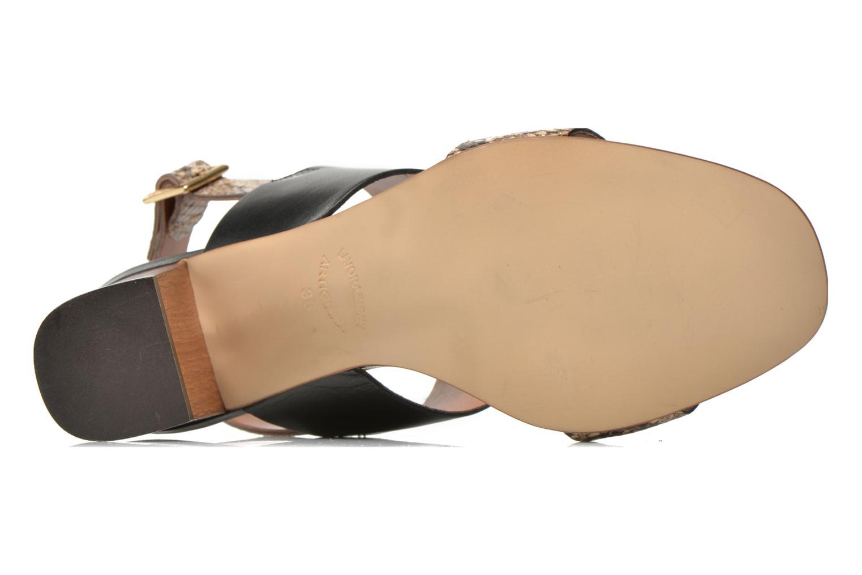 Sandales et nu-pieds JB MARTIN 1Helma Noir vue haut